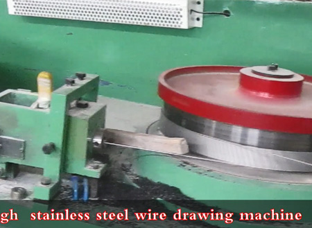 Stainless steel wire production line