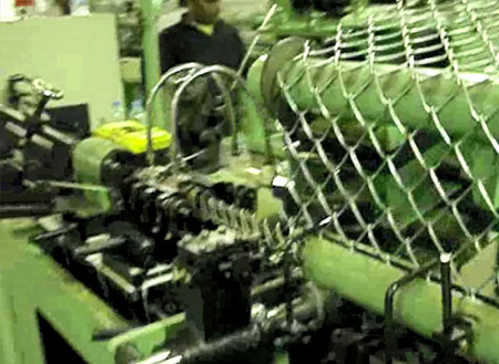 Wire drawing galvanized netting production line